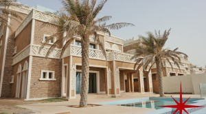 Palm Jumeirah, Exceptional 4 Bedrooms Villa with Roof Deck, a Lift, Private Pool, Garden and Spectacular Sea Views